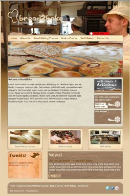 Bread2Bake website