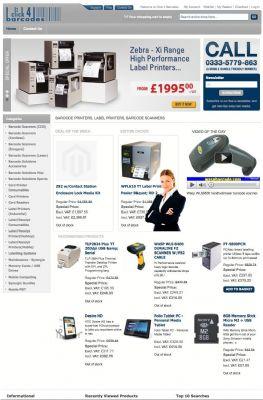 Click4Barcodes website