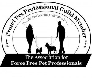 Member of the Pet Proffesionals Guild of Force Free Trainers