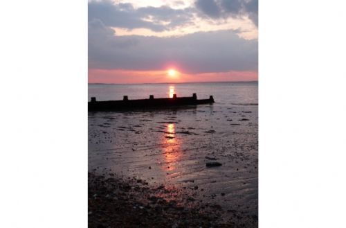 Sunset in Whitstable