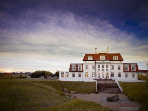 The Romney Bay House Hotel, Romney Marsh, photographed by us as part of an architectural commission to help with the hotel''s web site, marketing and media materials.