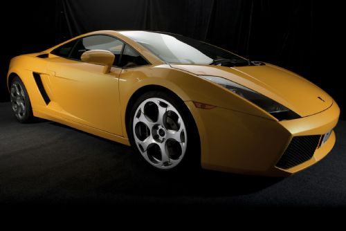 The Lamborghini Murciélago, a studio shoot.