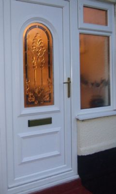 Upvc door and window.