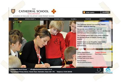 The Cathedral School website