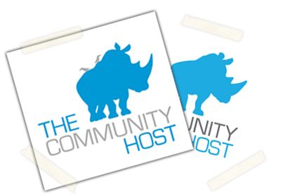 The Community Host logo design