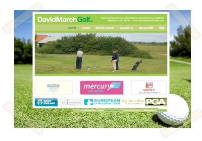 David March Golf website
