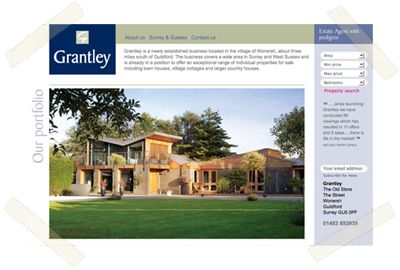 Grantey Estate Agents website
