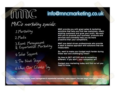 MNC Marketing website