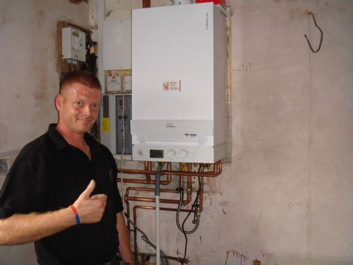 Another Viessmann Combi Boiler fitted, With 5 years gaurentee when registerd with Gas Safe