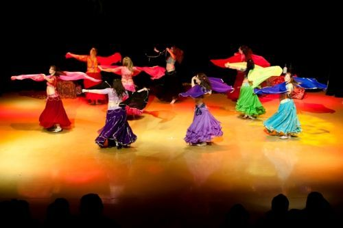 Theatre performance of Mehira's Jewels in 'An Evening of Egyptian Dance' Nov 2011