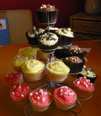 A selection of cupcakes