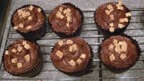 Devils Food Cupcakes