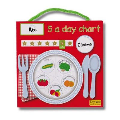 5 A Day Magnetic Reward Chart