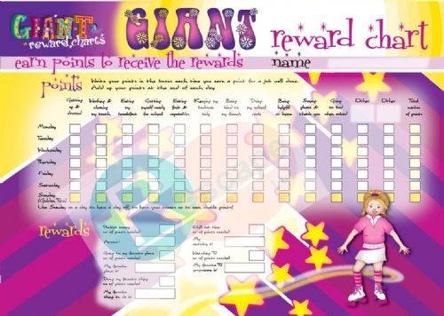 Giant Reward Chart Girls