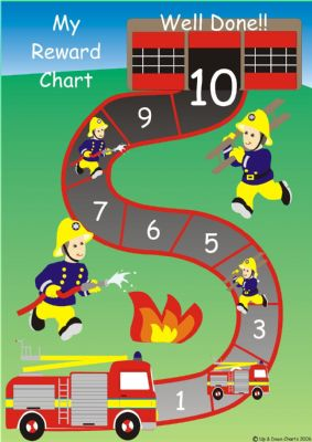Fire Engine Reward Chart