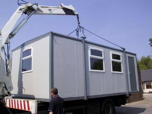 Small Portable Office Building