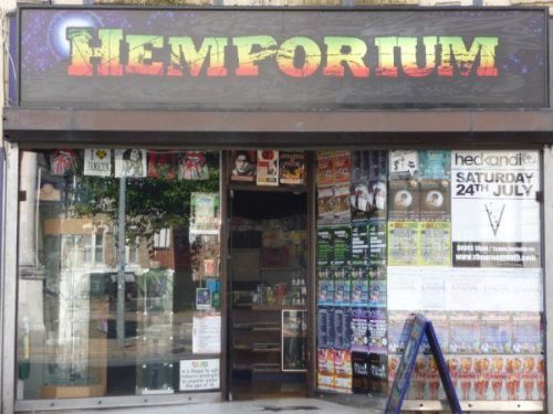 Hemporium - Shop Frontage