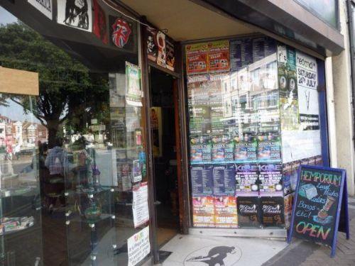 Hemporium Shop Doorway