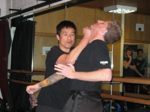 Master Chan doing a demonstration in Bristol in Dec 2011