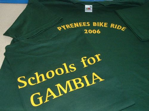 Schools For Gambia Charity T-shirt