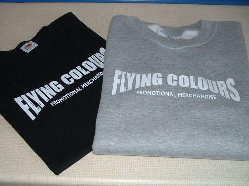 Flying Colours sweatshirts.