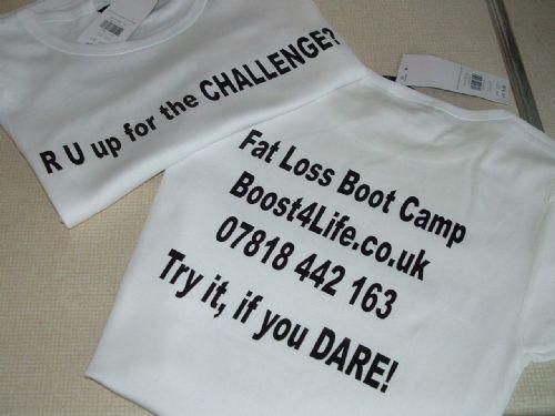 Race 4 Life T-shirt.