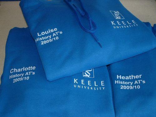 Keele University Hoodies.