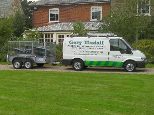 A view of one of the gardens Pro Garden Services maintain