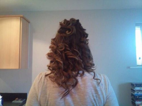 Ghd curls.