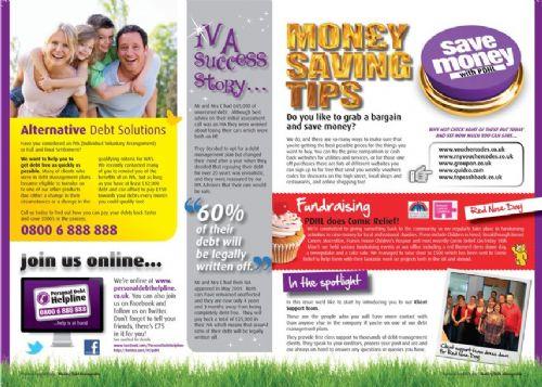 Personal Debt Helpline Client Newsletter Page 2 & 3