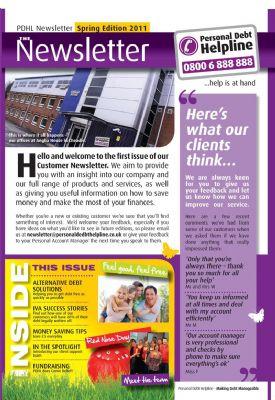 Personal Debt Helpline Client Newsletter Page 2