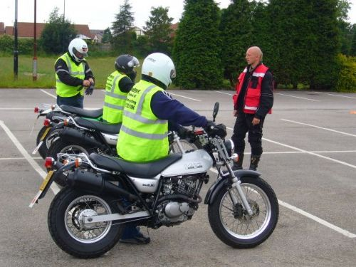 CBT training on our carpark