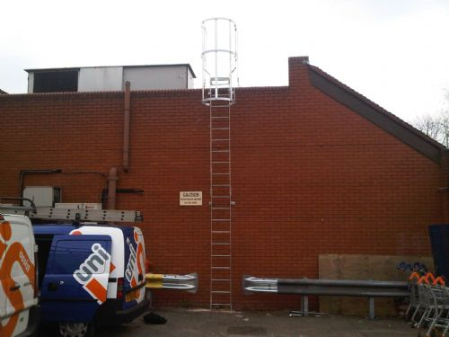 Installation of Access Ladder and Modification of Armco Barrier