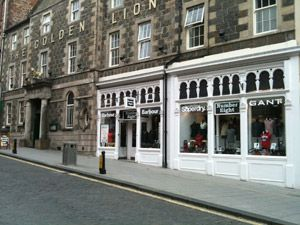 Number Eight, as seen from the Stirling high street