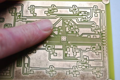 Completed Prototype PCB design