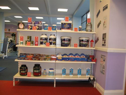 Great range of sports supplements