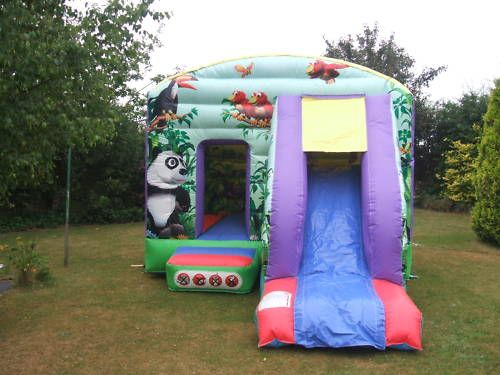 12 x 18ft combi, great for indoor & outdoor use, small gardens and hall. Favourite with many kids