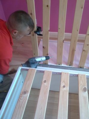 Dismantle and Reassembling of bed