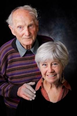 Portrait of an older couple