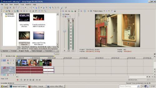 Editing work