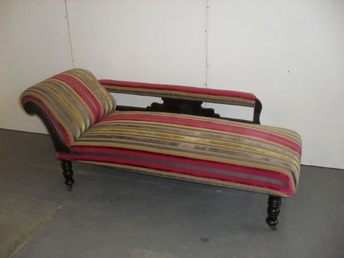 Re-build and recover Chaise in Villa Nova fabric