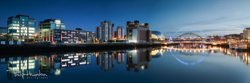 Newcastle Quayside Panoramic