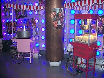 Popcorn and Candy floss carts