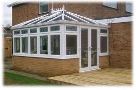 Edwardian conservatory.