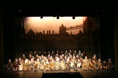 The Cast Of Oliver At The Newark Palace Theatre