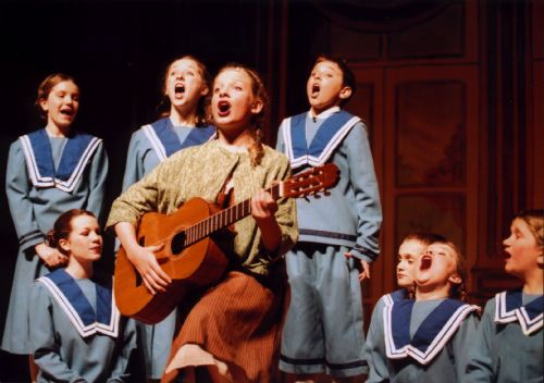 The Sound Of Music. One of our many fully staged Musicals