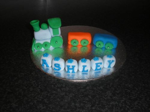Example of cake toppers available