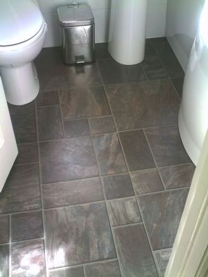Bathroom and Laminate floor fitted - High Wycombe