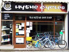 Hythe cycles, 21-23 high street, hythe, kent, ct21 5ad.