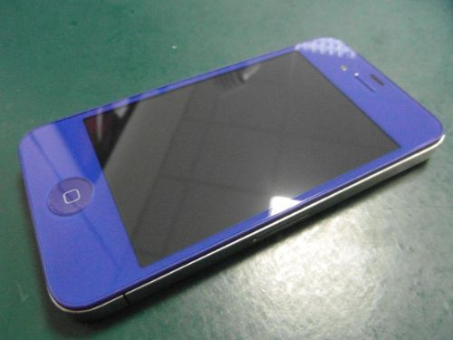 iPhoneAngels.co.uk - iPhone 4 Screen Repair & Replacement into Blue Colour Conversion